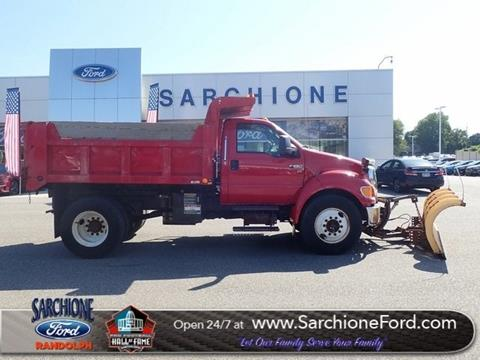 2012 Ford F-650 Super Duty for sale in Randolph, OH