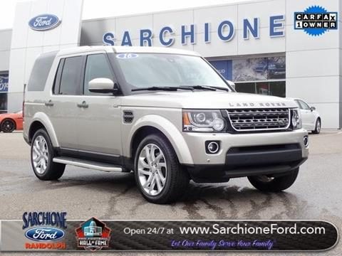 2016 Land Rover LR4 for sale in Randolph, OH
