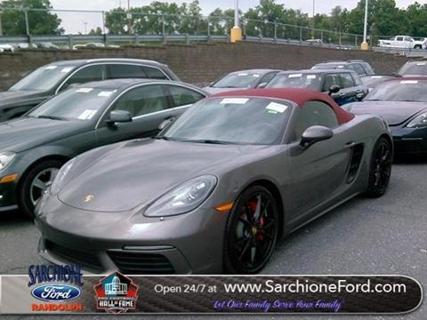 2018 Porsche 718 Boxster for sale in Randolph, OH