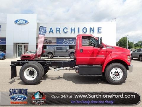2019 Ford F-750 Super Duty for sale in Randolph, OH