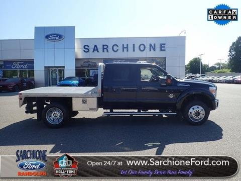 2015 Ford F-450 Super Duty for sale in Randolph, OH