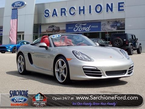 2013 Porsche Boxster for sale in Randolph, OH