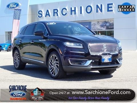 2019 Lincoln Nautilus for sale in Randolph, OH