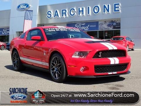 2012 Ford Shelby GT500 for sale in Randolph, OH