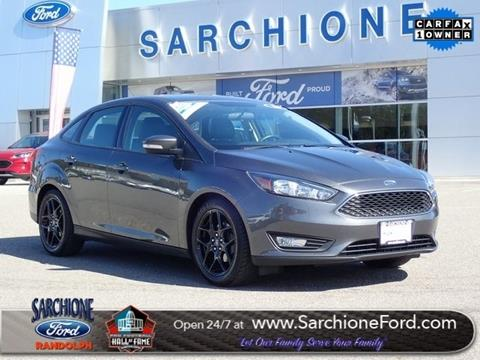 2016 Ford Focus for sale in Randolph, OH