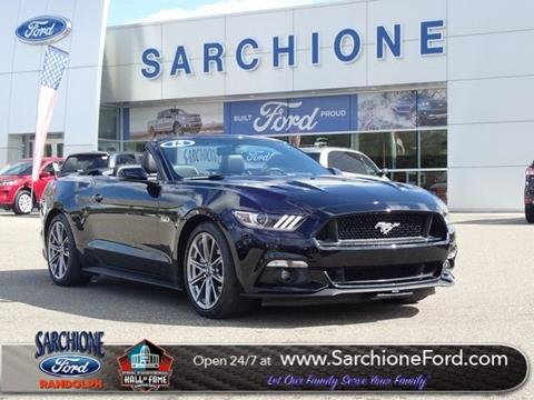 2015 Ford Mustang for sale in Randolph, OH