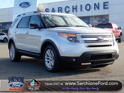 2013 Ford Explorer for sale in Randolph, OH