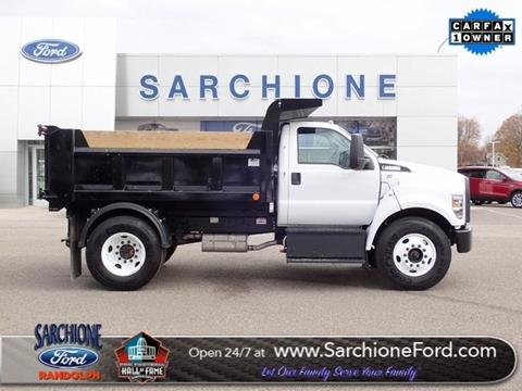 2019 Ford F-650 Super Duty for sale in Randolph, OH