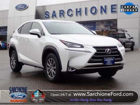 Lexus Dealers In Ohio >> 2016 Lexus Nx 200t For Sale In Randolph Oh