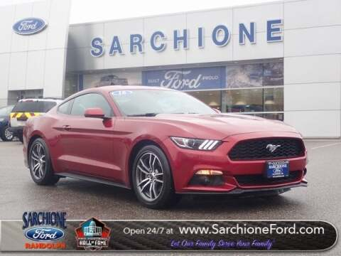 2016 Ford Mustang EcoBoost Premium for sale at Sarchione Ford in Randolph OH