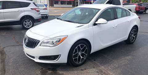 2017 Buick Regal for sale at N & J Auto Sales in Warsaw IN