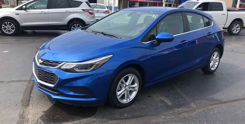 2018 Chevrolet Cruze for sale at N & J Auto Sales in Warsaw IN