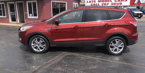 2016 Ford Escape for sale at N & J Auto Sales in Warsaw IN