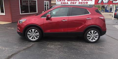 2017 Buick Encore for sale at N & J Auto Sales in Warsaw IN