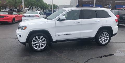 2017 Jeep Grand Cherokee for sale at N & J Auto Sales in Warsaw IN