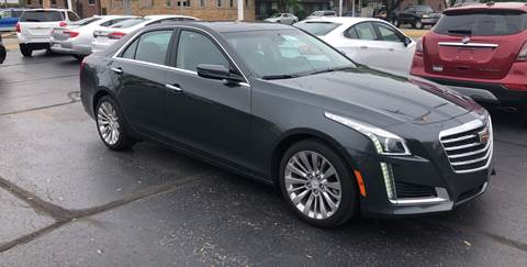 2018 Cadillac CTS for sale at N & J Auto Sales in Warsaw IN