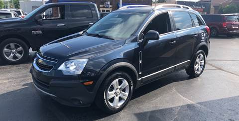 2014 Chevrolet Captiva Sport for sale at N & J Auto Sales in Warsaw IN