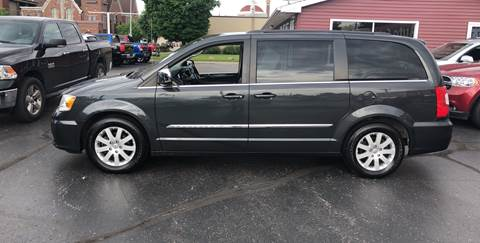 2011 Chrysler Town and Country for sale at N & J Auto Sales in Warsaw IN