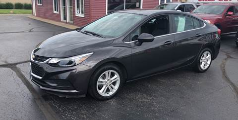 2017 Chevrolet Cruze for sale at N & J Auto Sales in Warsaw IN