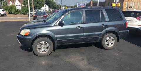 2004 Honda Pilot for sale at N & J Auto Sales in Warsaw IN