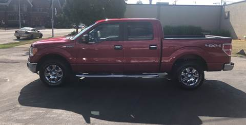 2012 Ford F-150 for sale at N & J Auto Sales in Warsaw IN