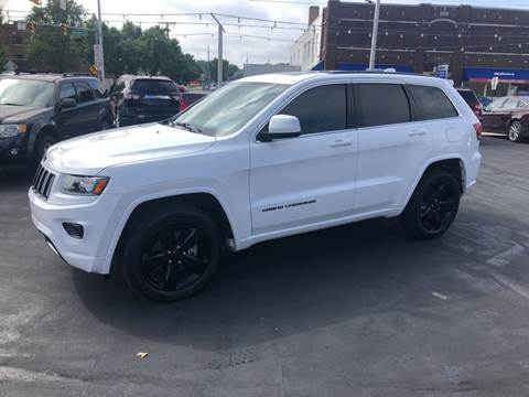 2015 Jeep Grand Cherokee for sale at N & J Auto Sales in Warsaw IN