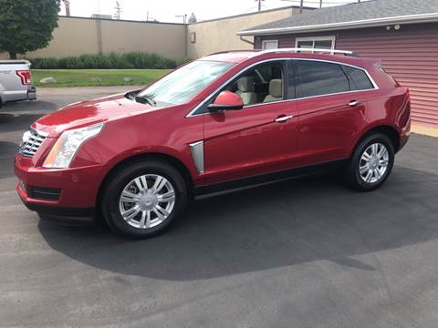 2015 Cadillac SRX for sale at N & J Auto Sales in Warsaw IN