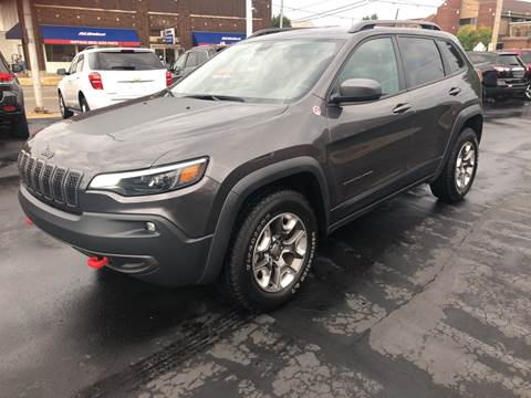 2019 Jeep Cherokee for sale at N & J Auto Sales in Warsaw IN