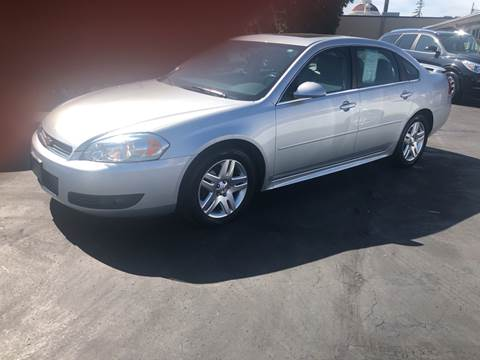2011 Chevrolet Impala for sale at N & J Auto Sales in Warsaw IN