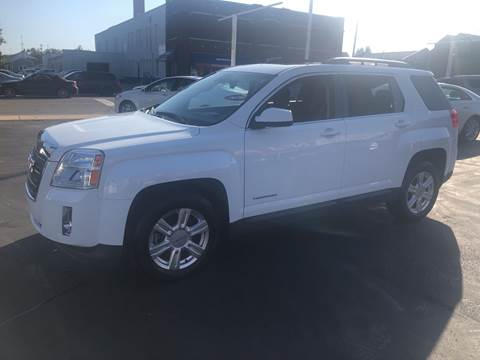 2015 GMC Terrain for sale at N & J Auto Sales in Warsaw IN