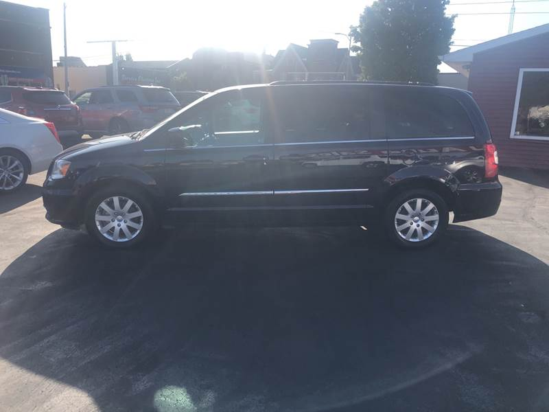 2016 Chrysler Town and Country for sale at N & J Auto Sales in Warsaw IN