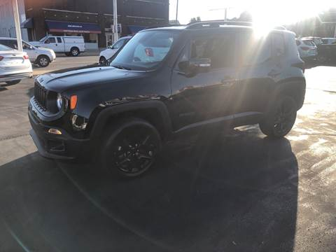 2017 Jeep Renegade for sale at N & J Auto Sales in Warsaw IN