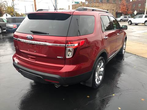 2013 Ford Explorer for sale at N & J Auto Sales in Warsaw IN