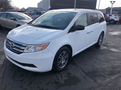 2013 Honda Odyssey for sale at N & J Auto Sales in Warsaw IN