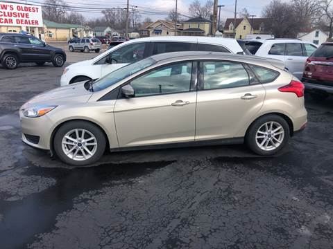 2017 Ford Focus for sale at N & J Auto Sales in Warsaw IN