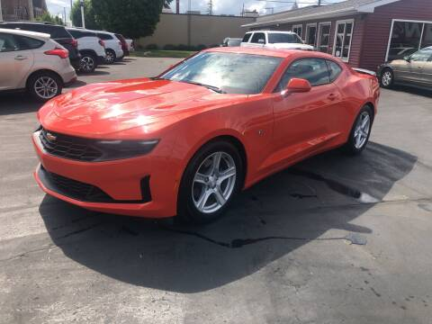2019 Chevrolet Camaro for sale at N & J Auto Sales in Warsaw IN
