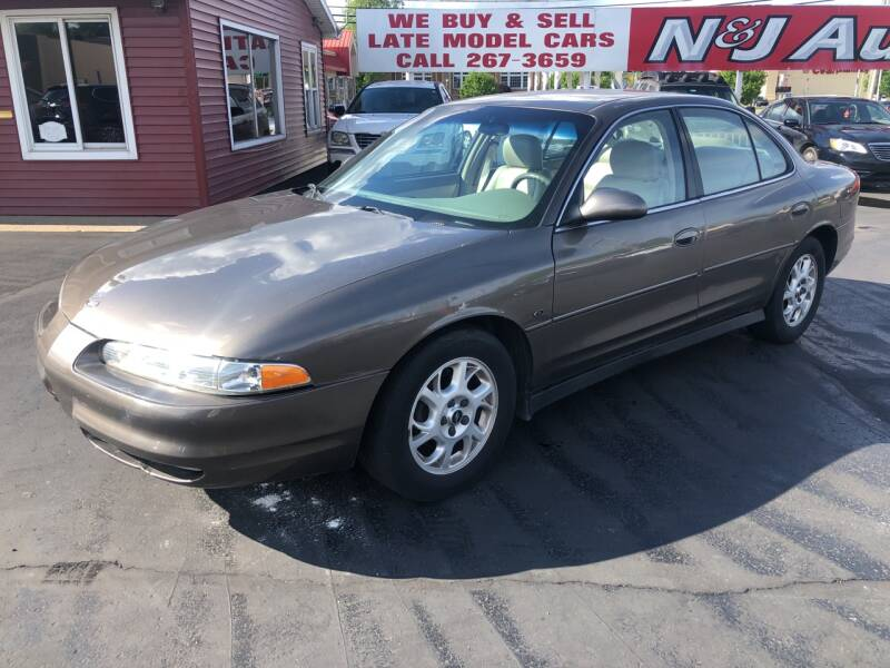 2001 Oldsmobile Intrigue for sale at N & J Auto Sales in Warsaw IN