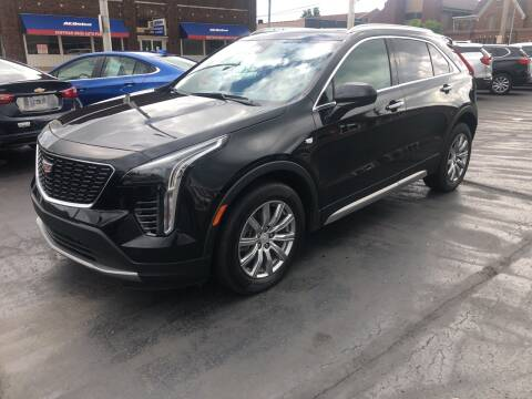 2020 Cadillac XT4 for sale at N & J Auto Sales in Warsaw IN