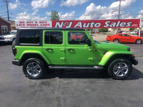 2019 Jeep Wrangler Unlimited for sale at N & J Auto Sales in Warsaw IN