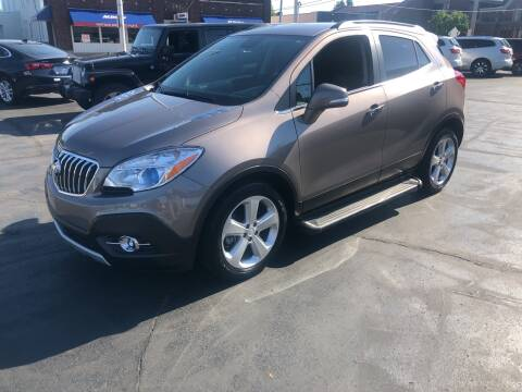 2015 Buick Encore for sale at N & J Auto Sales in Warsaw IN