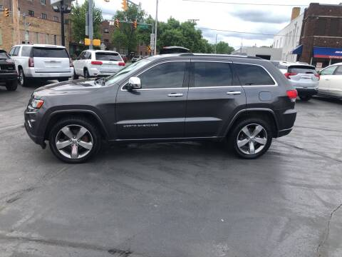 2014 Jeep Grand Cherokee for sale at N & J Auto Sales in Warsaw IN
