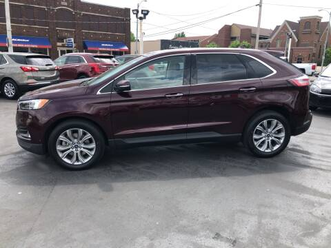 2019 Ford Edge for sale at N & J Auto Sales in Warsaw IN