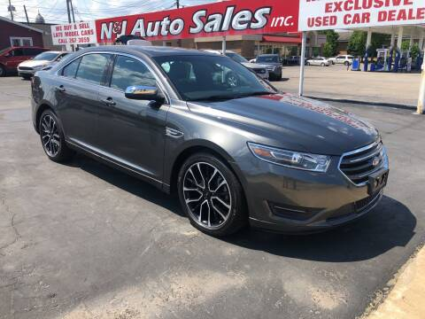 2019 Ford Taurus for sale at N & J Auto Sales in Warsaw IN