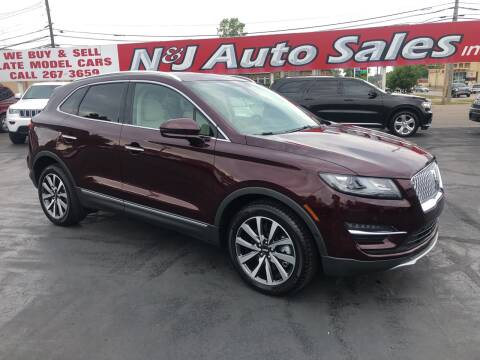 2019 Lincoln MKC for sale at N & J Auto Sales in Warsaw IN