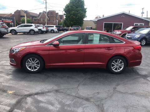2015 Hyundai Sonata for sale at N & J Auto Sales in Warsaw IN