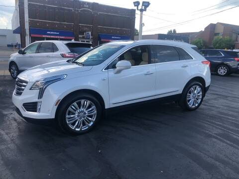 2019 Cadillac XT5 for sale at N & J Auto Sales in Warsaw IN