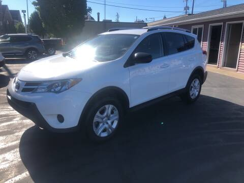 2013 Toyota RAV4 for sale at N & J Auto Sales in Warsaw IN