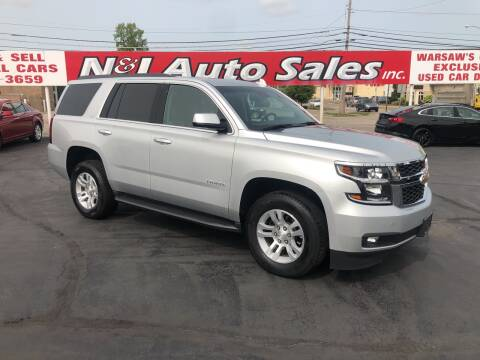 2019 Chevrolet Tahoe for sale at N & J Auto Sales in Warsaw IN