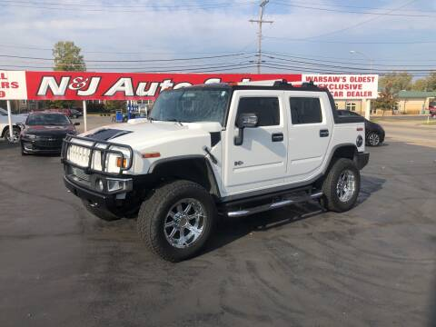 2007 HUMMER H2 SUT for sale at N & J Auto Sales in Warsaw IN