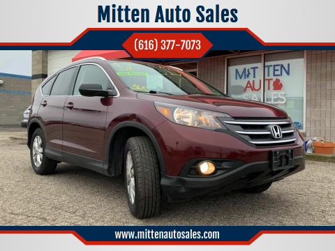 2012 Honda CR-V for sale at Mitten Auto Sales in Holland MI